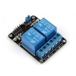 2 kanaals relais module met LED 5v